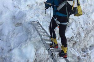 Horia Colibășanu se pregătește de ascensiunea finală în Himalaya