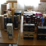 Prins de jandarmi, în Piața Flavia, cu sticle de băuturi alcoolice în valoare de 3.000 de euro