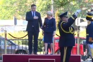 VIDEO Premierul Viorica Dăncilă l-a primit pe omologul croat, Andrej Plenkovic cu o… gafă de protocol