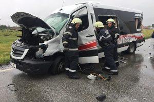 A fost activat Planul roşu la Lugoj. 21 de copii şi adulţi au fost implicaţi într-un accident