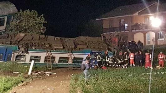 Tren deraiat în Italia. Un român a fost ucis, iar altul rănit
