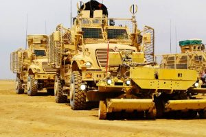 Opt militari români răniți în Afganistan! Unul a ajuns la un spital din Germania, ceilalți au fost externați