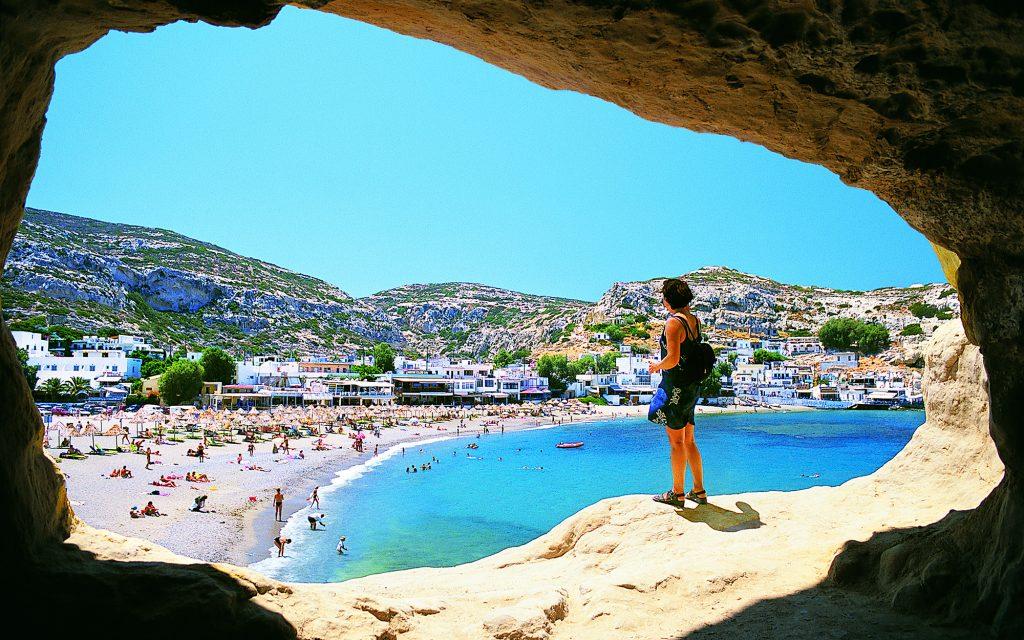 Matala, Crete, Greek Islands
