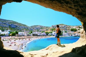 Matala, Crete, Greek Islands