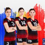 Voleibalistele Pîrv, Petra și Bacșiș, de la Agroland Timișoara, convocate la echipa națională