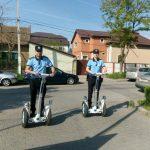 Polițiștii pe segway fac prăpăd printre șoferii nesimțiți din Timișoara