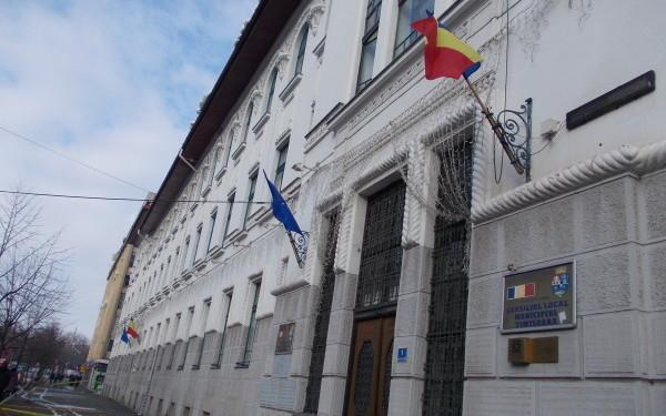 Fațada Primăriei Timișoara va fi renovată
