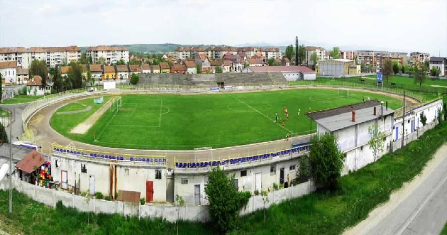 Lucrări de un milion de lei la stadionul Municipal din Lugoj