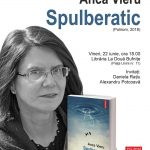 Lectură publică și sesiune de autografe, cu Anca Vieru, la lansarea romanului Spulberatic