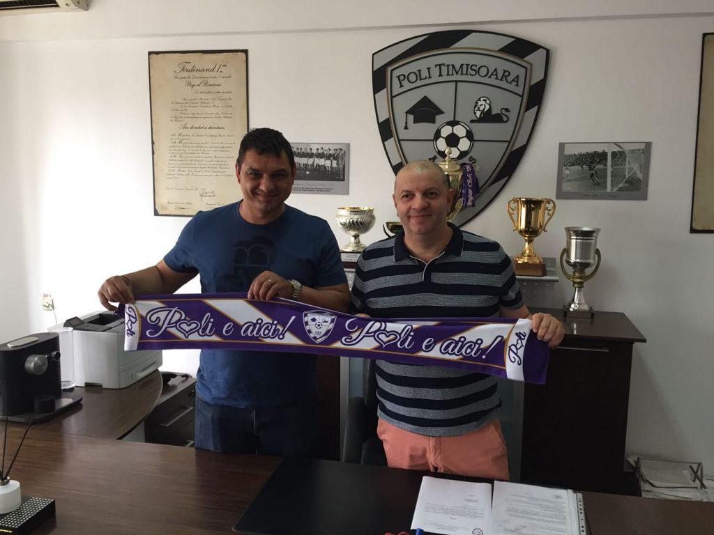 Poli Timișoara a găsit antrenorul cu care pornește asaltul spre Liga I: Ionel Ganea