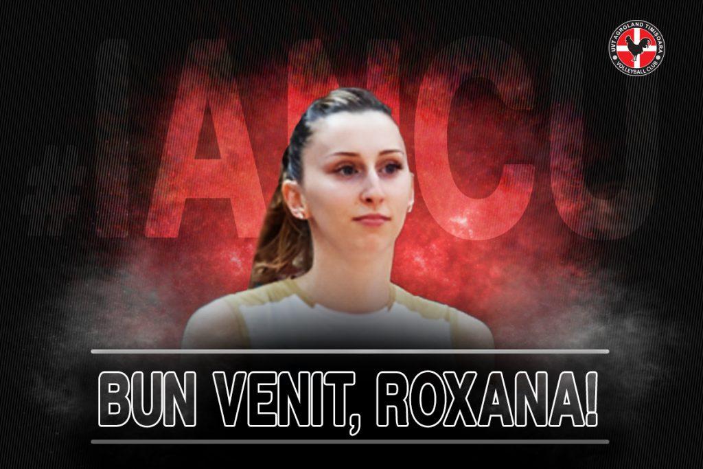 """Transfer de """"națională""""! Roxana Iancu, prima nou-venită la UVT Agroland Timișoara"""