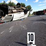 Accident în Ungaria cu 10 răniți, în apropierea graniței cu România. MAE: Opt români au fost răniți