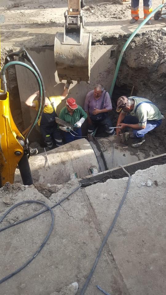 Întreruperea furnizării apei reci în zona Musicescu