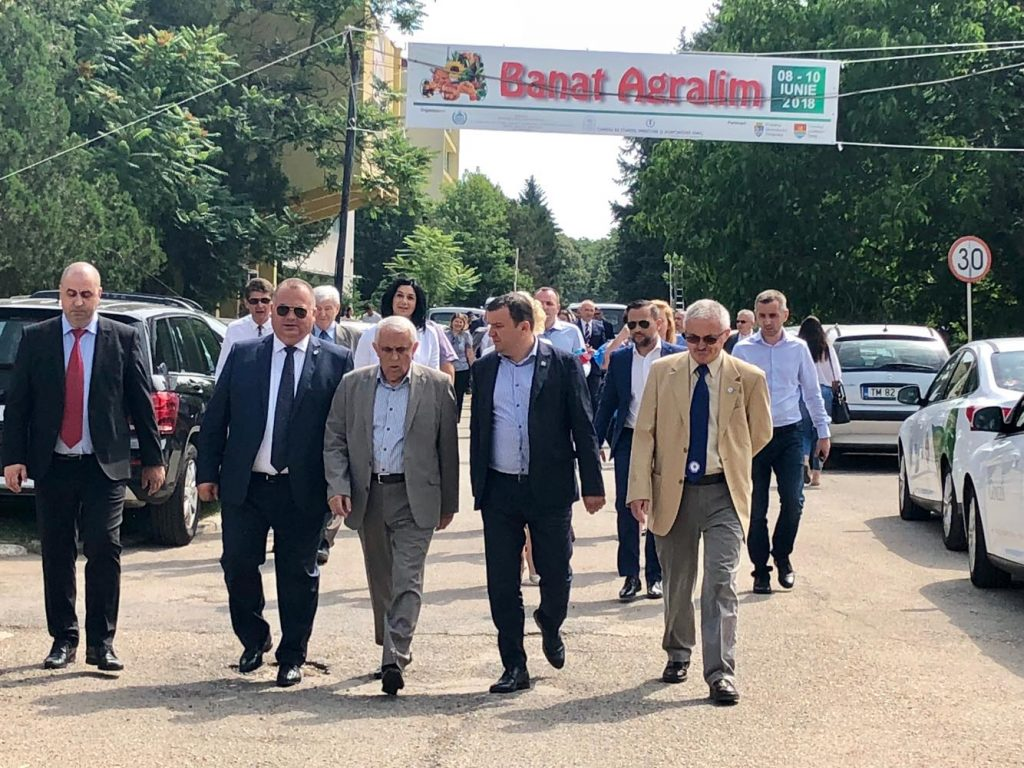 FOTO. Ministrul Agriculturii a deschis expoziția Banat Agralim