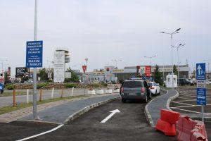 """Noi locuri de parcare și modificări ale fluxurilor de circulație rutieră, la Aeroportul Internațional """"Traian Vuia"""""""