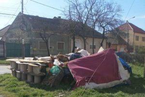 Campanie de colectare a deșeurilor voluminoase în comuna Giroc