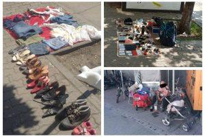 """Jumătate de tonă de """"resturi"""" scoase la vânzare, confiscate de polițiștii locali din Timișoara"""