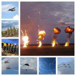 FOTO. Acrobații pe cerul Banatului. Piloții Baltic Bees, din Letonia, surpriza serii