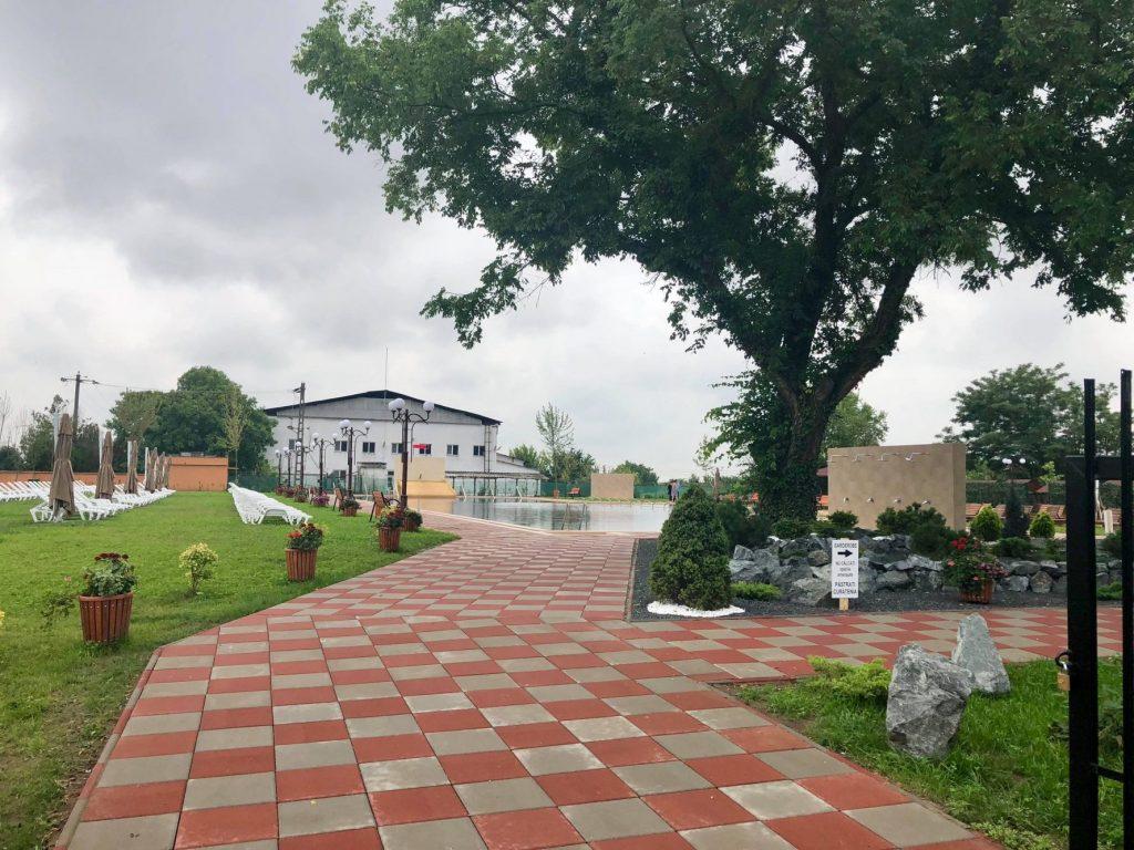 Ștrandul termal, mult așteptat, din comuna timișeană Lovrin a fost inaugurat
