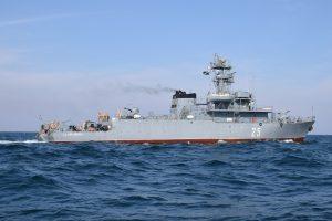 Peste 300 de marinari militari români, la exercițiul BREEZE 18 din Marea Neagră