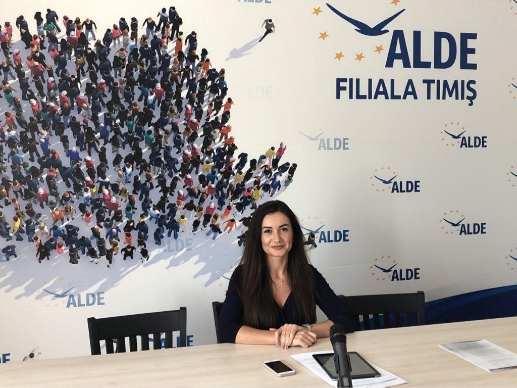 """Laura Chindriș, consilier local ALDE Timișoara: """"Robu a dat cu piciorul la 240 de milioane de euro pentru dezvoltareaTimișoarei"""""""