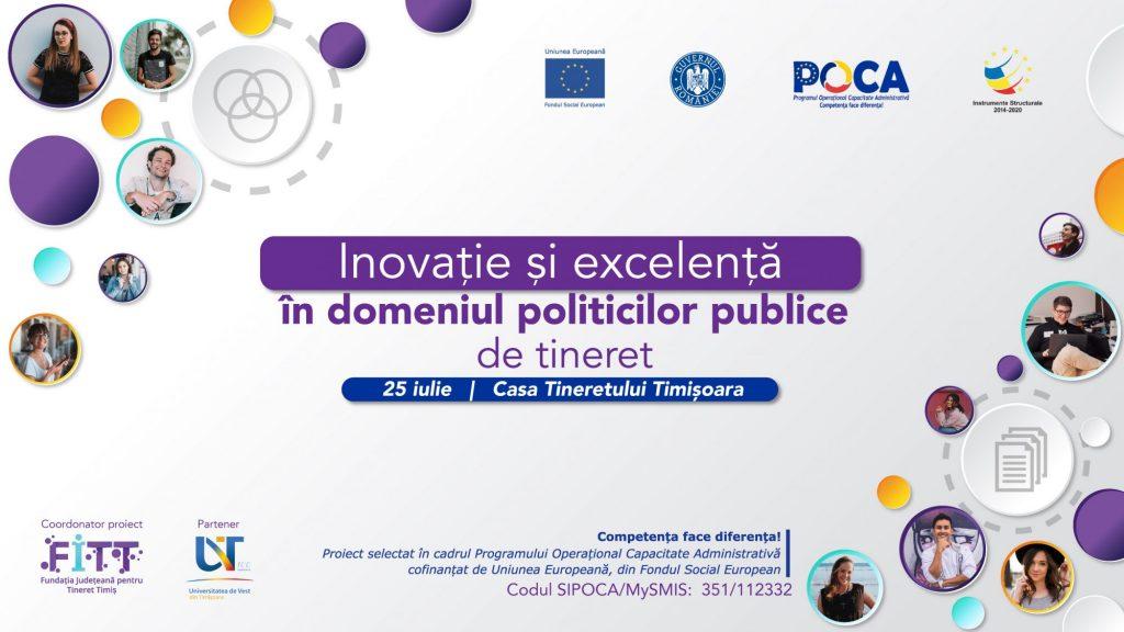 Se lansează Centrul de inovație și excelență în domeniul politicilor publice de tineret