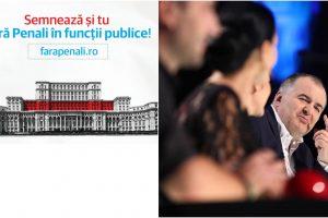 """Actorul timișorean Florin Călinescu strânge semnături în cadrul campaniei """"#fărăpenali"""""""