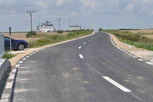 Drumul Județean care face legătura dintre Iohanisfeld și Ivanda, reabilitat