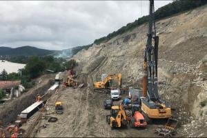Ce lucrări s-au mai făcut pe Lotul 4 Lugoj – Deva al autostrăzii A1