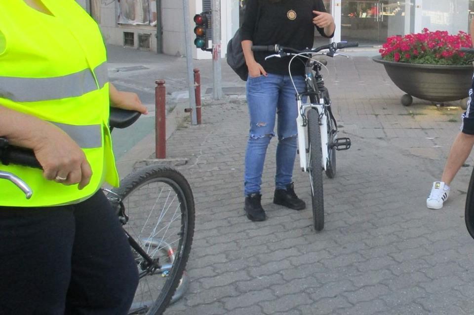 A scăzut numărul bicicliştilor amendaţi în Timişoara