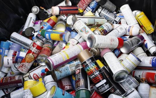 Campanie de colectare a deșeurilor periculoase în orașul Recaș