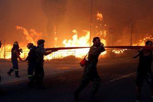 Incendii în Grecia. Ministrul Fifor: Suntem pregătiți să trimitem două aeronave