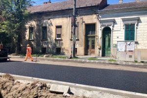 Joi, lucrări de reparații ale străzilor din Timișoara