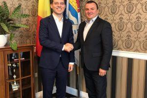 Ministrul delegat pentru Afaceri Europene, Victor Negrescu, în vizită la CJT