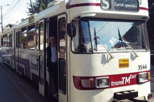 Tramvaiul turistic va circula în fiecare duminică prin Timişoara