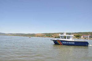 Localnic salvat de polițiștii de frontieră pe fluviul Dunărea