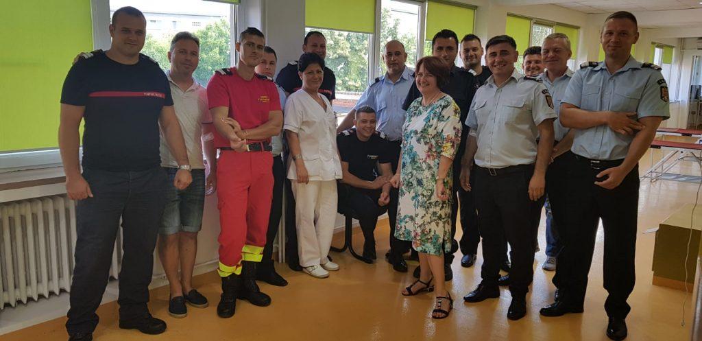 O şansă pentru viaţă. Acțiune de donare de sânge a pompierilor din Sânnicolau Mare