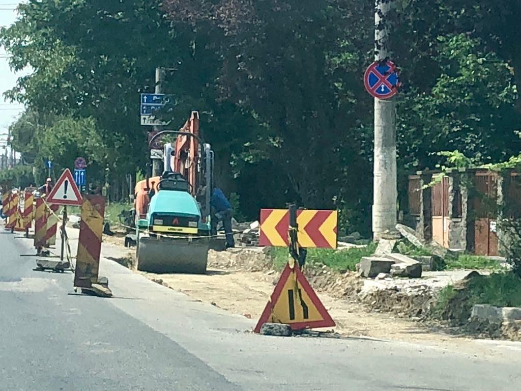 Drumarii intervin și astăzi pe mai multe străzi din oraș
