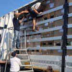 Migranţi în loc de role de fier beton. Păţania unui şofer din Timiş