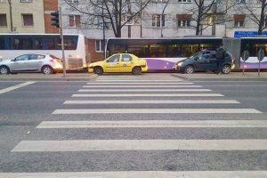 Atenție pietoni pe unde traversați strada!