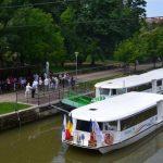 Vaporaşele circulă în continuare pe Bega pentru timişoreni şi turişti