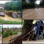 Viitură în Hunedoara. O femeie a murit înecată în curte, zeci de gospodării au fost distruse în Vaţa de Jos