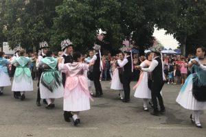 Pregătiri pentru tradiţionala sărbătoare de Kirchweih la Biled
