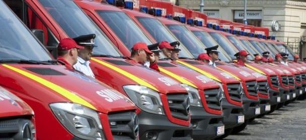 Guvernul a aprobat achiziția a 1.200 de ambulanțe pentru serviciile județene SMURD