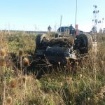 Accident pe A1 în Timiș. Doi oameni au fost răniţi