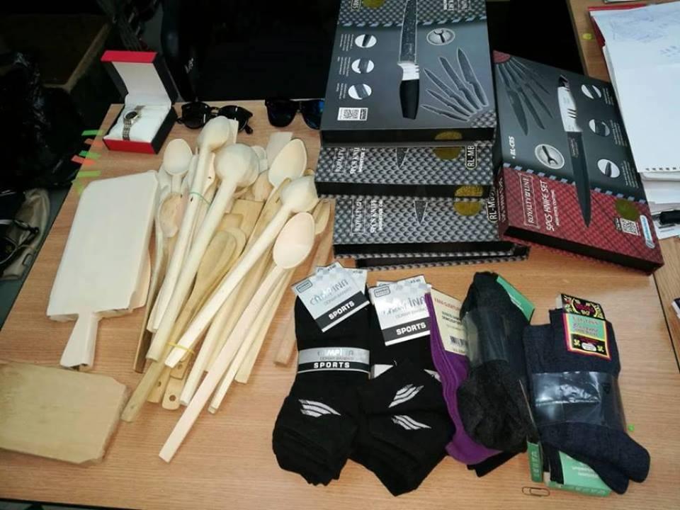 Zeci de sancțiuni aplicate de polițiștii locali pentru comerțul ambulant neautorizat