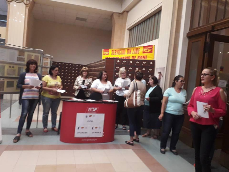 Bursa Locurilor de Muncă la Poșta Timișeană