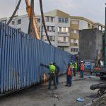 Muncitorii au început demolarea estacadei din zona Girocului
