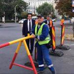Circulaţia prin Piața Mărăști a fost reluată luni dimineaţă
