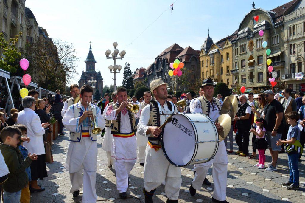 Festivalul Fanfarelor are loc duminică la Timișoara